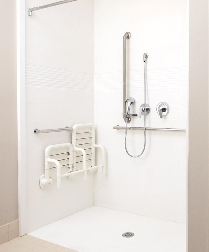Complete Senior Living Shower