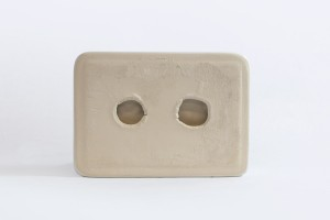 Glossy Surface Mount Soap Dish